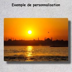 Tableau chromaluxe personnalisé photo 24x36