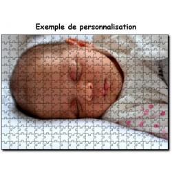 Puzzle à personnaliser 30x40 cm de 300 piéces