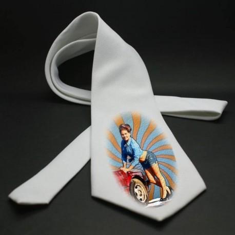 Cravate garçon personnalisée avec une photo