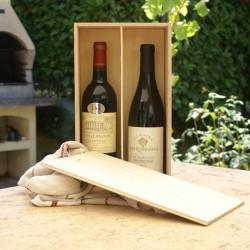 coffret vin personnalisable