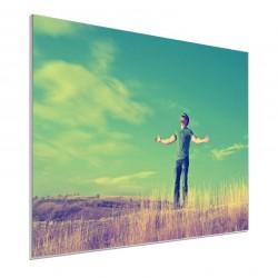 Tableau sur plexiglas 30x40 cm