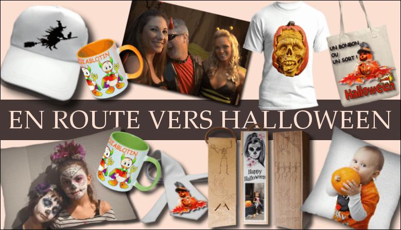 Personnalisez pour Halloween des objets pour faire la fête