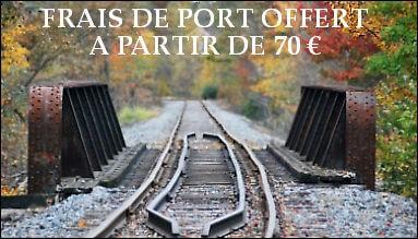 Frais de port offert à partir de 70 Euros