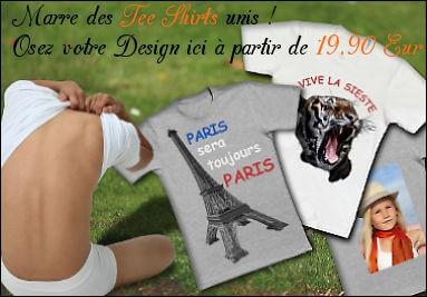 Impression personnalisée de Tee-shirts polyester à partir de photos